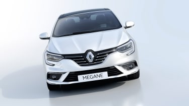 New Renault Megane Grand Coupe - studio front