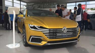 VW Coupe Concept GTE