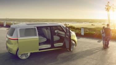Volkswagen I.D. Buzz - sunset