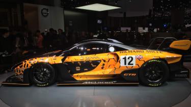 McLaren Senna GTR side profile