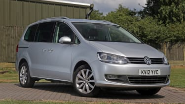 Used Volkswagen Sharan - front