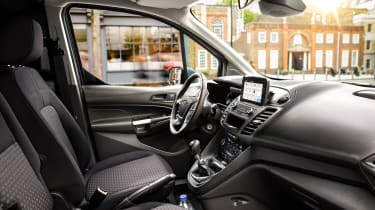 New Ford Transit Connect and Courier - interior