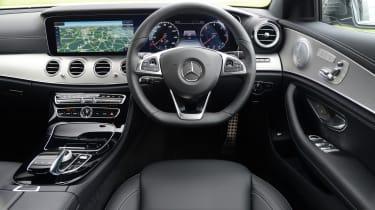 Mercedes E 350d 2016 - interior
