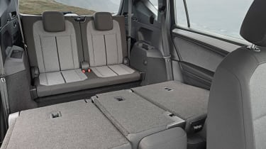 SEAT Tarraco - back seats down