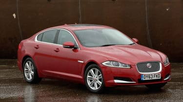 BMW 5 Series vs rivals group jaguar xf