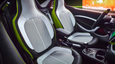 Smart forease concept - front seats