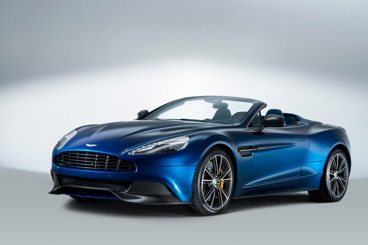 Aston Martin Vanquish Volante Revealed Auto Express