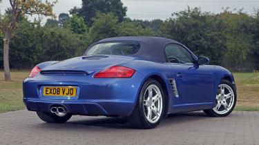 Used Porsche Boxster - rear