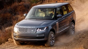 New Range Rover PHEV 2017 review - off road