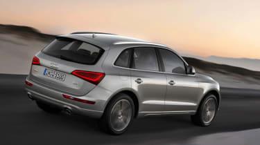 Audi Q5 facelift rear tracking