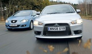 Mitsubishi Lancer vs SEAT Leon