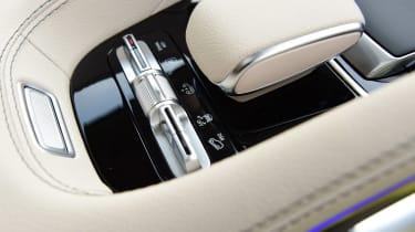 Mercedes GLS - interior detail