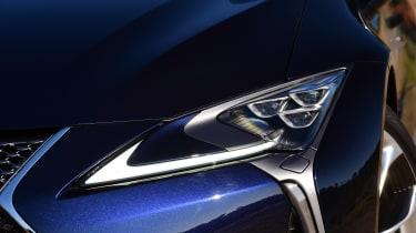 Lexus LC 500h - front light detail