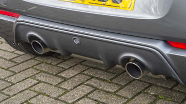 Smart Brabus ForFour 2017 - rear exhaust