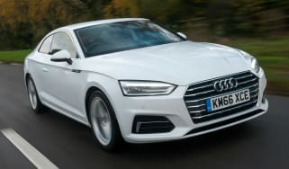 Audi A5 Coupe 2.0 TDI - front action