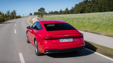 Audi A7 Sportback 55 TFSI e - rear tracking