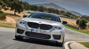 BMW M5 Competition - full front