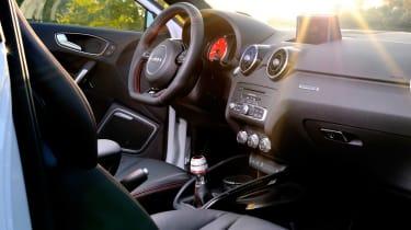 Audi A1 quattro interior