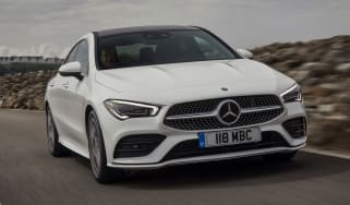 Mercedes CLA 250 AMG Line - front tracking