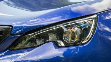 Peugeot 308 GTi review - headlight