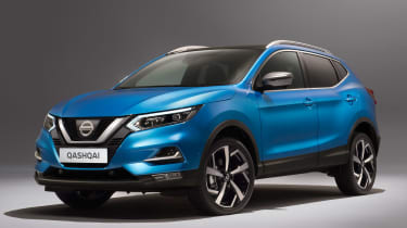 New Nissan Qashqai facelift - front static