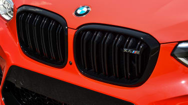 BMW X4 M Competition - grille