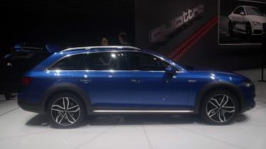 Audi A4 Allroad side