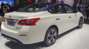New Nissan Sylphy - rear