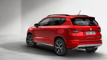 SEAT ateca FR rear quarter