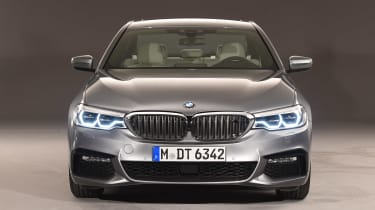 BMW 5 Series - studio full front