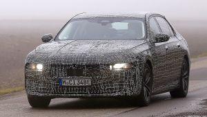 BMW 7 Series - spyshot 7