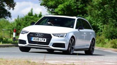 Audi A4 Avant - front cornering