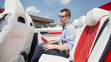 Skoda Sunroq - rear seats