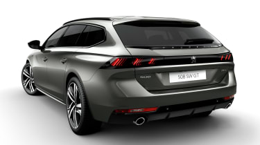 Peugeot 508 SW - full rear studio
