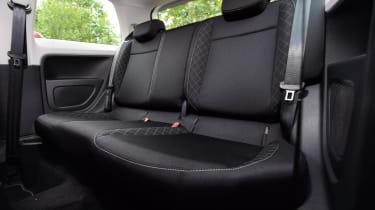 Used Skoda Citigo - rear seats
