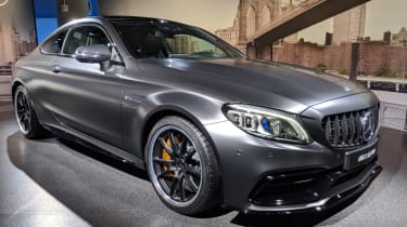 Mercedes-AMG C 63 Coupe - launch front