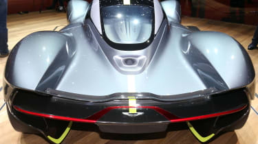 Aston Martin Valkyrie Geneva - full rear