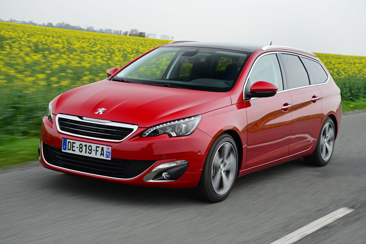 Peugeot 308 SW video review   Auto Express