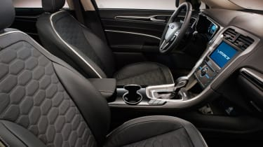 Ford Mondeo Vignale offers higher specifications and better materials inside.