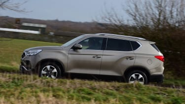 SsangYong Rexton long term - first report side