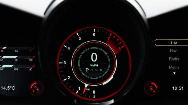 Aston Martin DBS Superleggera - speedo