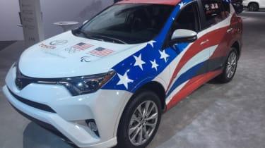Detroit Motor Show - RAV4 SUV