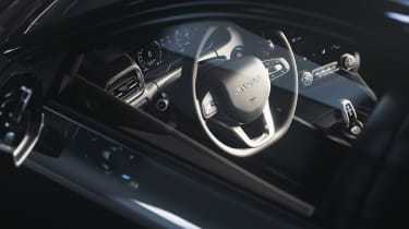 Lynk & Co 02 - steering wheel