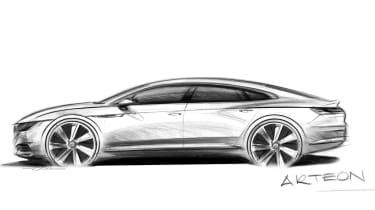 Volkswagen Arteon sketch