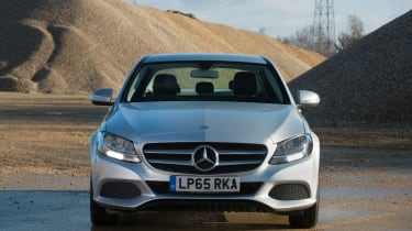 Used Mercedes C-Class Mk4 - full front