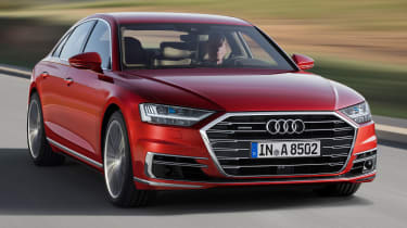 New Audi A8 - front