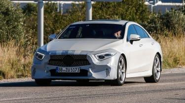 Mercedes CLS Catalonia front