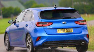 New Kia Ceed UK rear