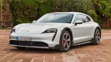 Porsche Taycan Cross Turismo - front static