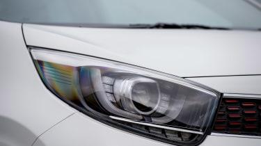Kia Picanto GT Line - front light detail